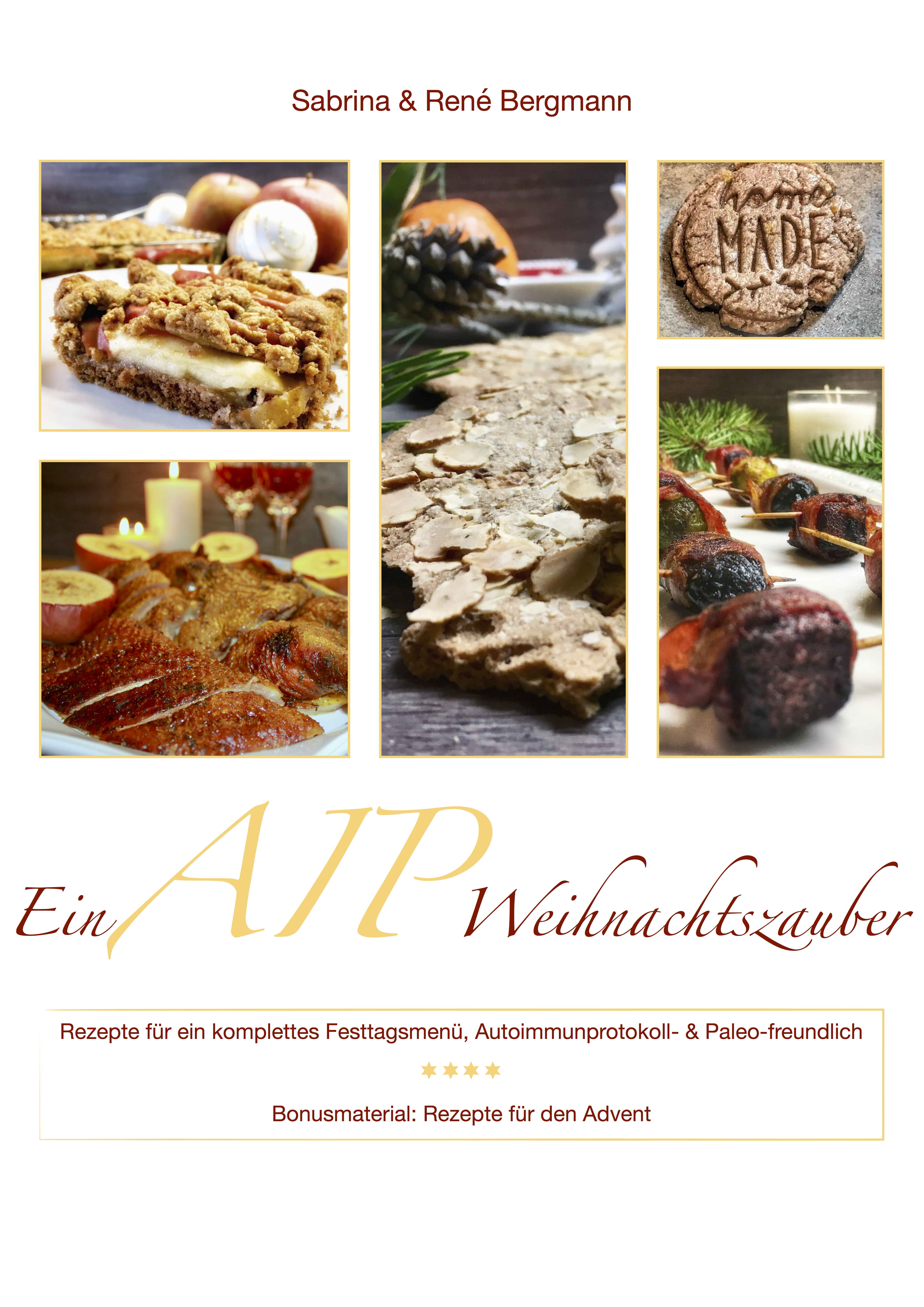 Das Cover unseres ersten Buches: Ein AIP Weihnachtszauber.