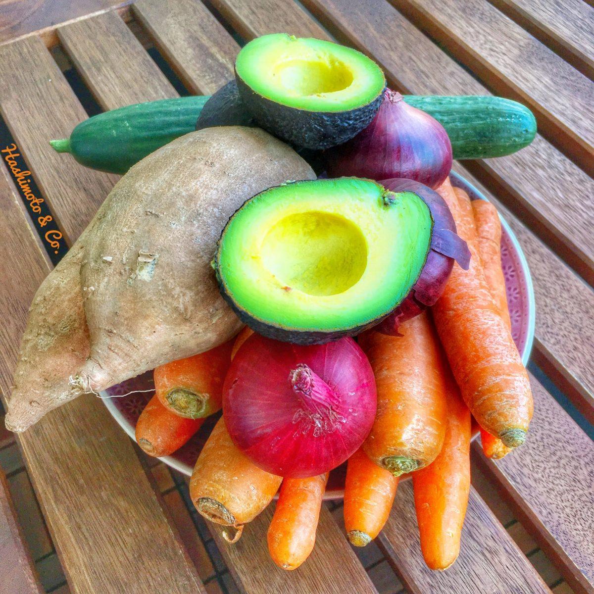 Gemüse ist die Lösung für eine Ernährung mit wenig Fructose im AIP.
