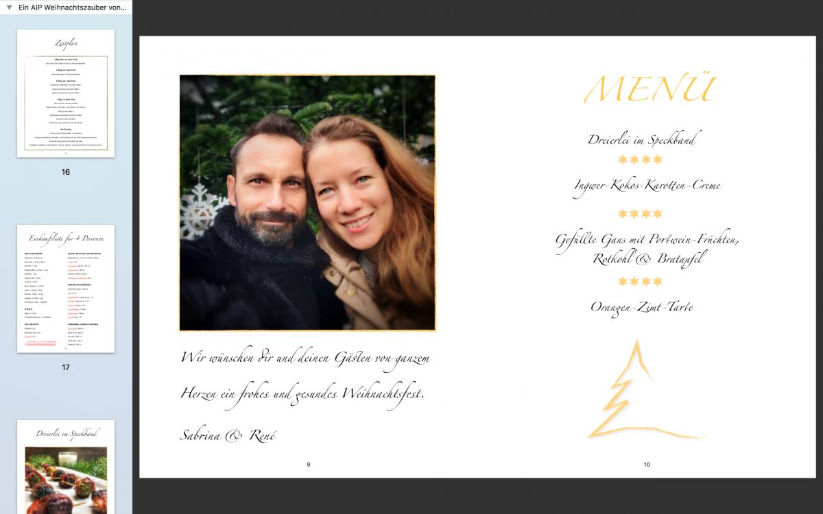 """Weihnachten mit dem Autoimmunprotokoll – Einblicke ins Buch """"Ein AIP-Weihnachtszauber"""""""