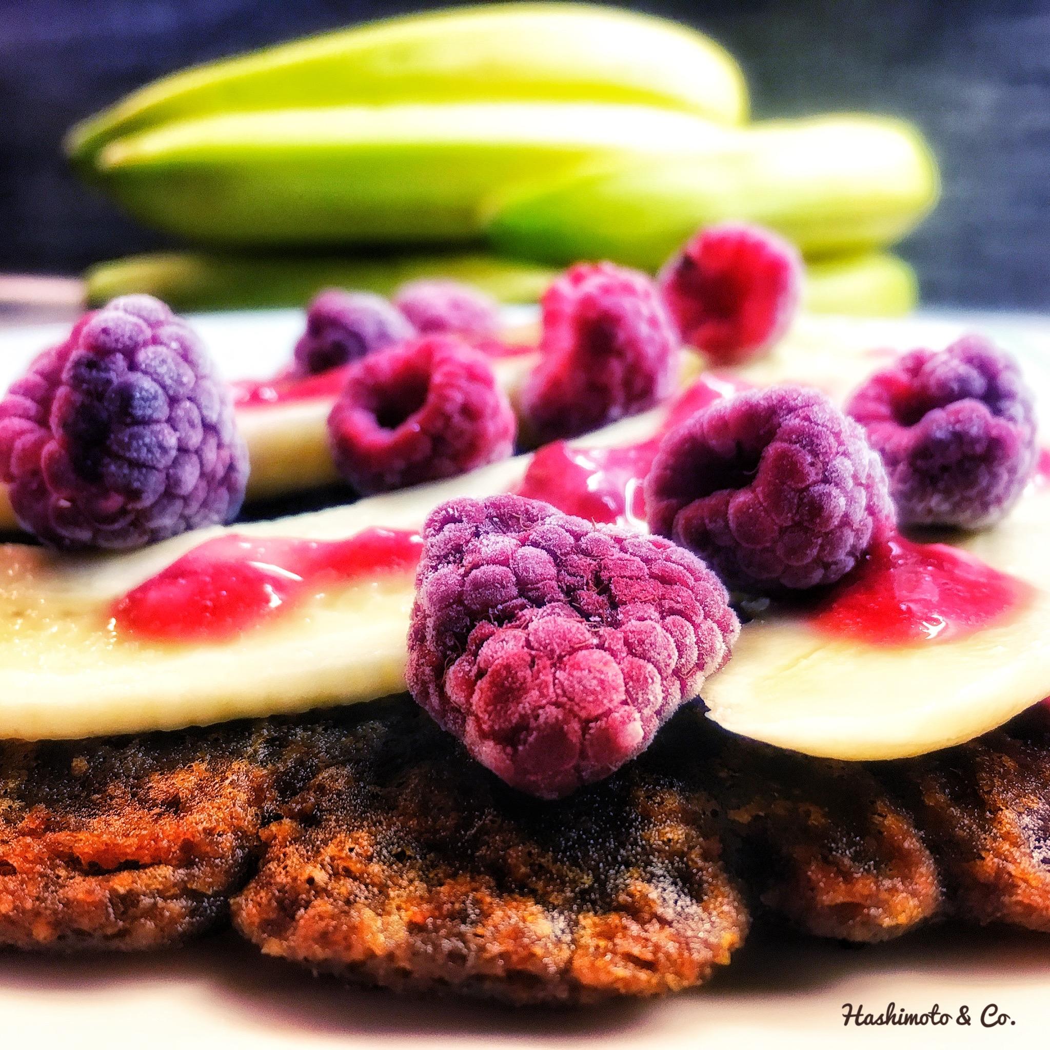 AIP Rezepte AIP-Pfannkuchen ohne Getreide, Ei und Milch.