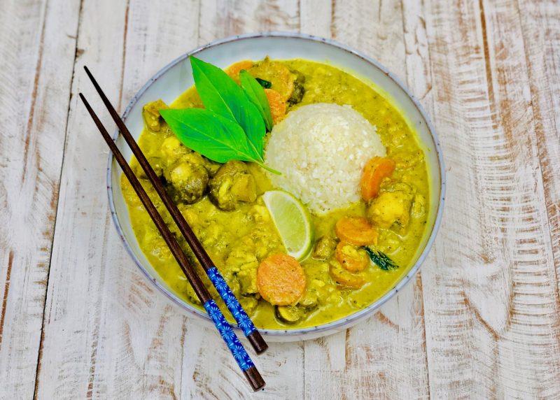 Unser AIP-konformes Fisch Curry