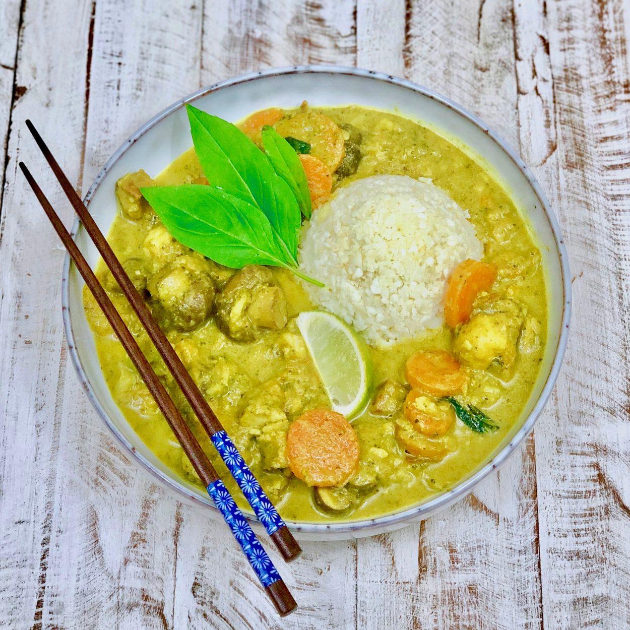 Fisch Curry (AIP, Paleo, Glutenfrei, Laktosefrei)