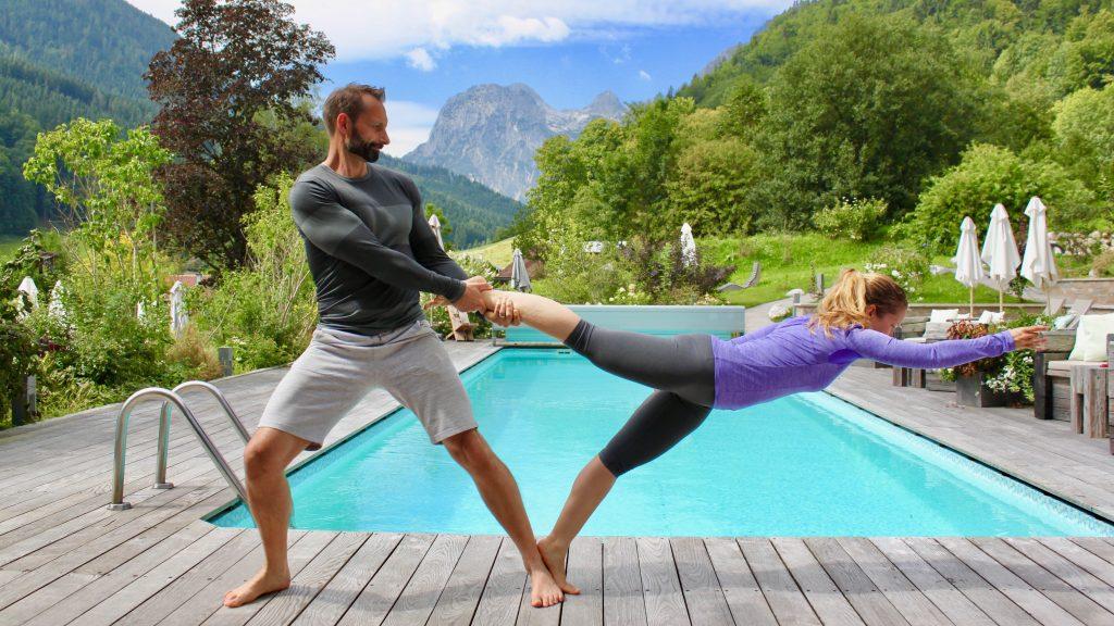 Sabrina und René Bergmann – Zu unserem Nutrivore-Lifestyle gehört auch viel Bewegung, am liebsten draußen in der Natur.