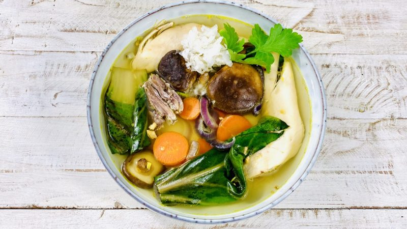 Unsere Hühnerbrühe ist ein wahrer Immunbooster gegen Erkältungen und Co.