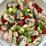 Radieschen Sardinen Salat