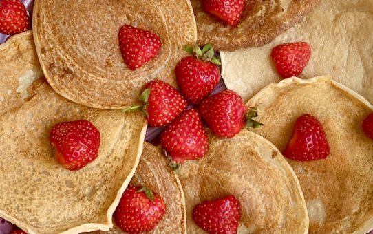 2-Zutaten Pfannkuchen